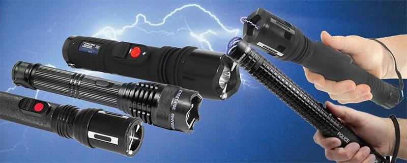 Có được tự ý sử dụng đèn pin phóng điện tự vệ? - ảnh 1