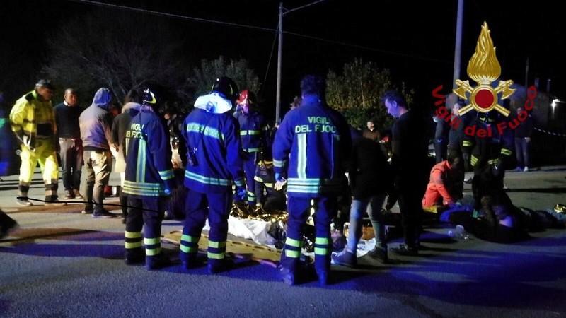 Giẫm đạp tại hộp đêm ở Ý, 6 người chết - ảnh 1