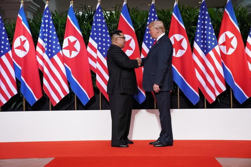 Phi hạt nhân hóa: Mỹ-Triều Tiên trở về vạch xuất phát - ảnh 1