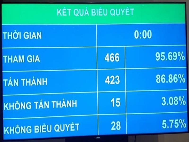 QH thông qua Luật An ninh mạng với hơn 86% đại biểu tán thành  - ảnh 1