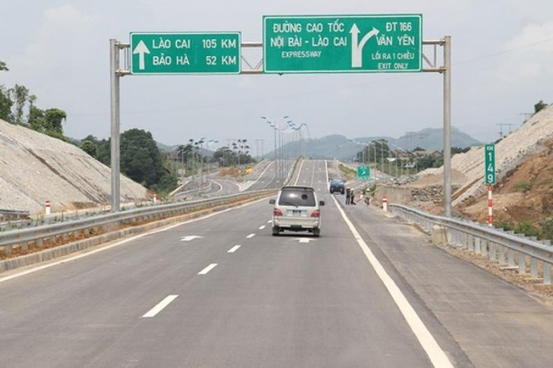Cao tốc Nội Bài - Lào Cai phục vụ trở lại tất cả phương tiện - ảnh 1