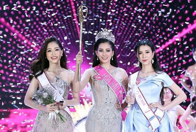 Cô gái Quảng Nam Trần Tiểu Vy đăng quang hoa hậu Việt Nam 2018 - ảnh 1