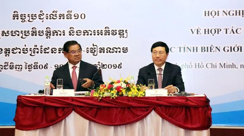 Tiếp tục xây dựng, tôn tạo các đài Hữu nghị Việt Nam-Campuchia - ảnh 1