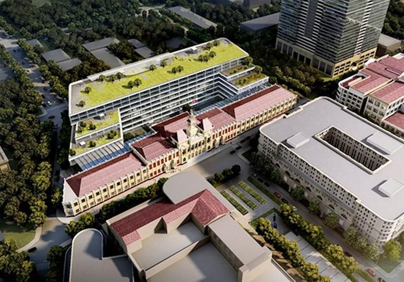 Lấy ý kiến thiết kế mở rộng trụ sở UBND TP.HCM - ảnh 1