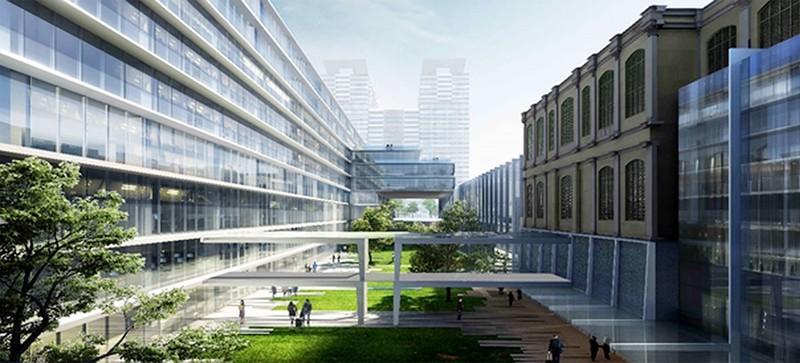 Lấy ý kiến thiết kế mở rộng trụ sở UBND TP.HCM - ảnh 2