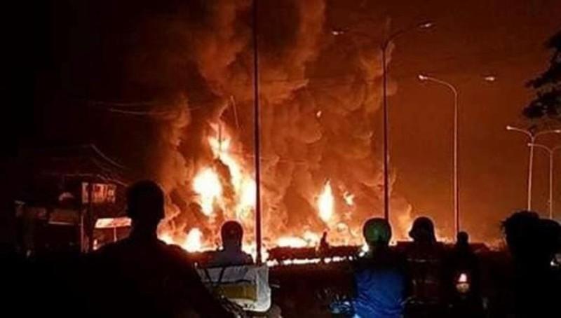 Sẽ khởi tố vụ lật xe bồn gây cháy làm 6 người tử vong - ảnh 2