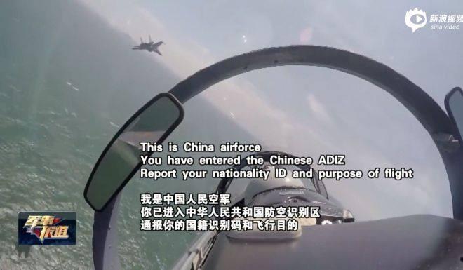 Máy bay Trung Quốc và nước ngoài chạm trán ở biển Hoa Đông - ảnh 1