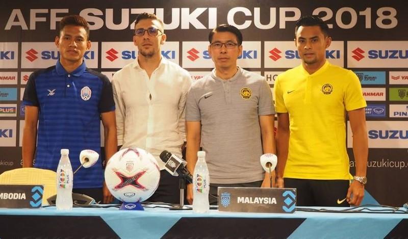 Vắng thầy Honda, chân sút Vathanaka muốn 'xé lưới' Malaysia - ảnh 1