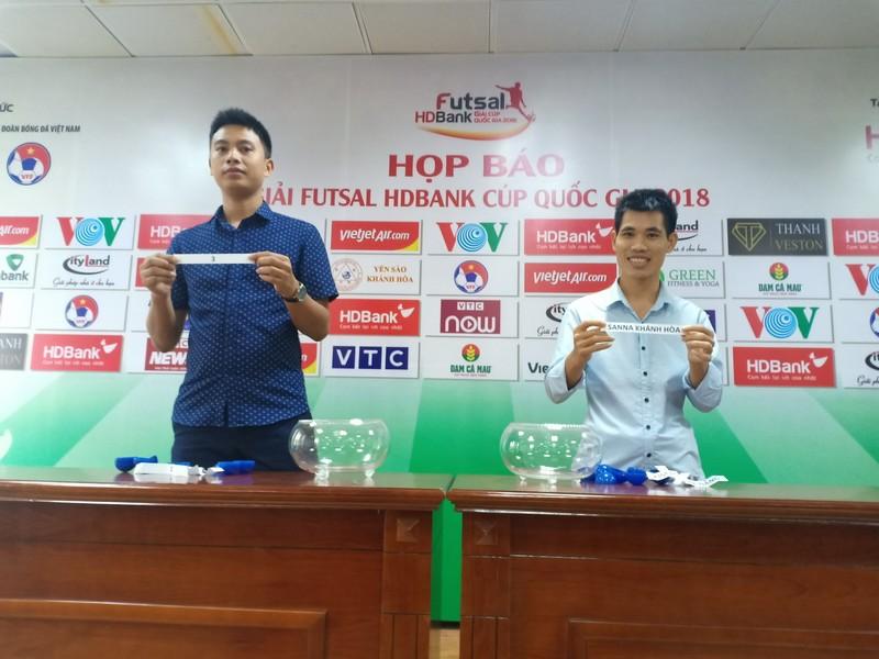 Anh tài hội tụ ở giải futsal HDBank Cúp Quốc gia 2018 - ảnh 2