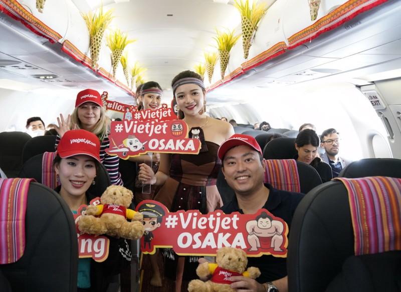 VietJet: Khai trương đường bay đến Nhật Bản - ảnh 4
