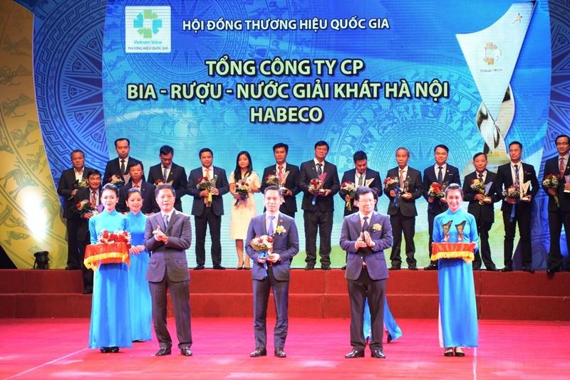 Bia Hà Nội đạt Thương hiệu quốc gia lần thứ 4 - ảnh 1