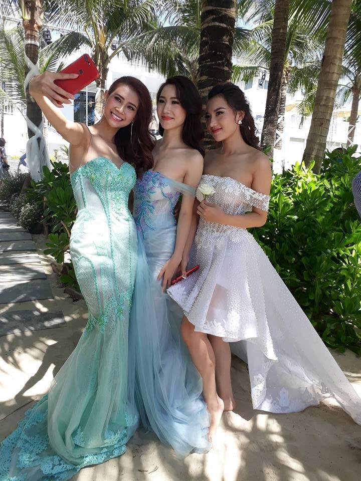 Hoa hậu Đặng Thu Thảo chụp ảnh cưới trên biển - ảnh 2