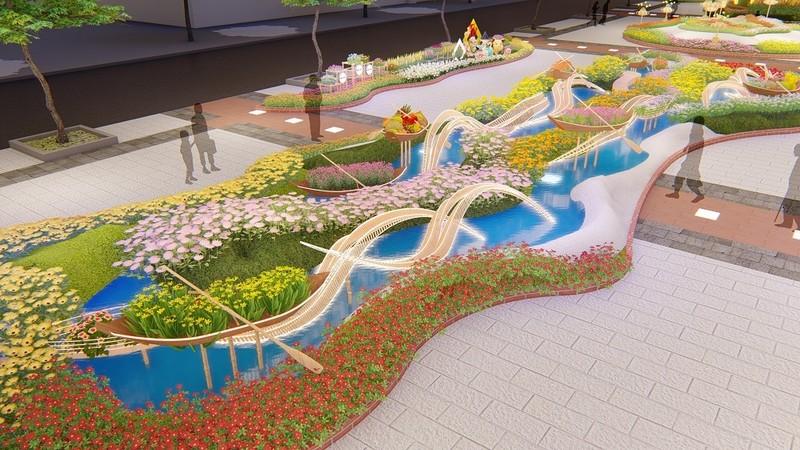 Cặp heo cao gần 3m trên đường hoa Nguyễn Huệ Tết 2019 - ảnh 8