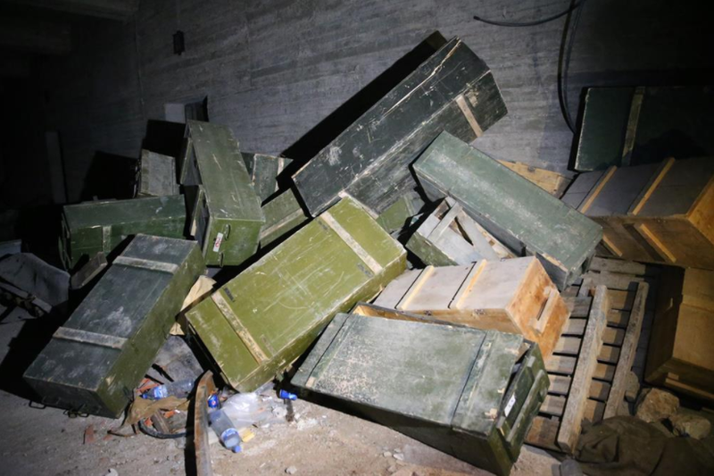Thổ Nhĩ Kỳ chiếm kho vũ khí của người Kurd ở Afrin - ảnh 11