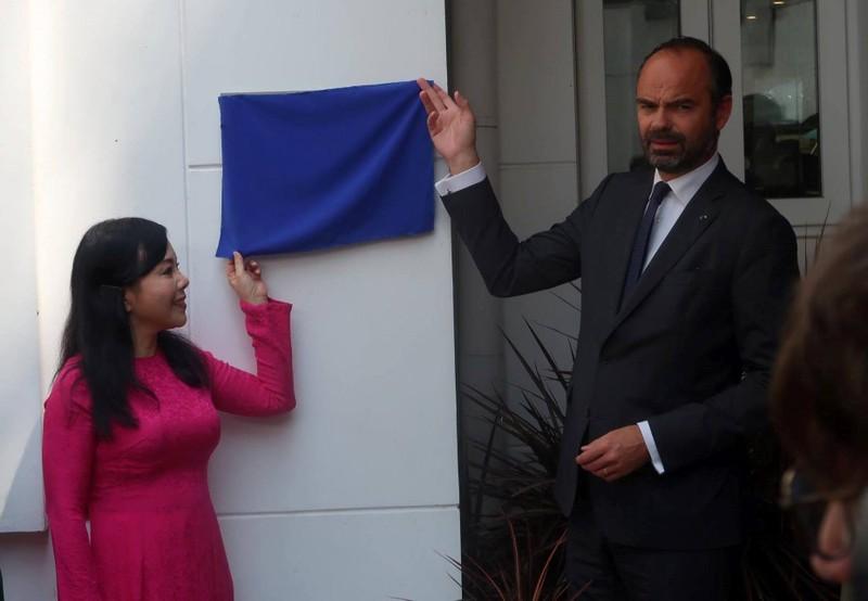 Thủ tướng Pháp dự khai trương Trung tâm Y tế Pháp tại TP.HCM - ảnh 1