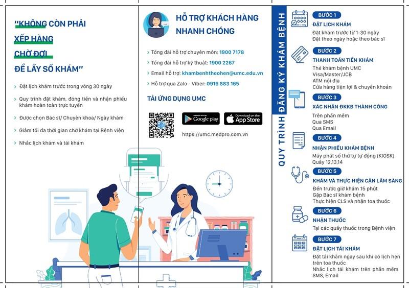 Đăng ký khám online tại bệnh viện Đại học Y dược TP.HCM - ảnh 1