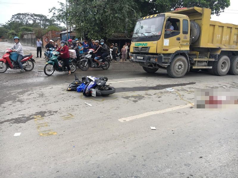 Nam sinh viên tử vong trên đường đến trường ngày đầu năm - ảnh 1
