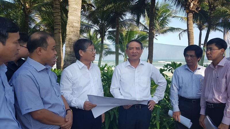 Bí thư Đà Nẵng chỉ đạo 'nóng' khi thị sát bãi biển - ảnh 2