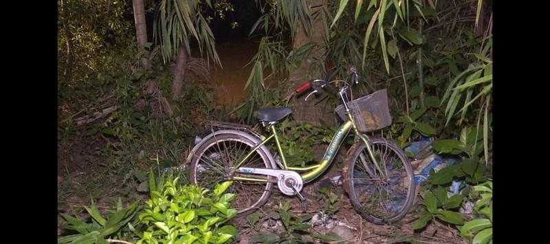 Dẫn xe đạp qua cầu, bé gái bị tông xuống sông mất tích - ảnh 2