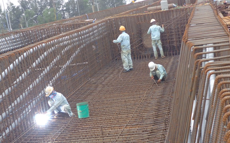 Gấp rút hoàn thành hầm chui tại nút giao Mỹ Thủy - ảnh 7