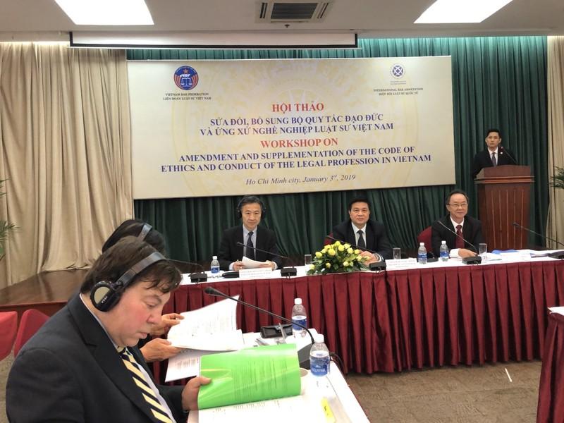 Sẽ sửa đổi quy tắc đạo đức và ứng xử nghề nghiệp luật sư VN - ảnh 2