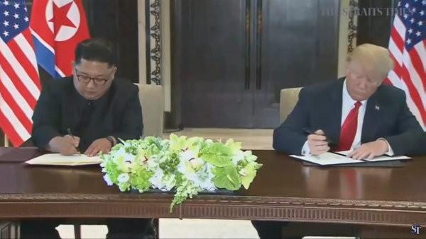 Ông Trump-Kim ký văn bản 'quan trọng' - ảnh 1