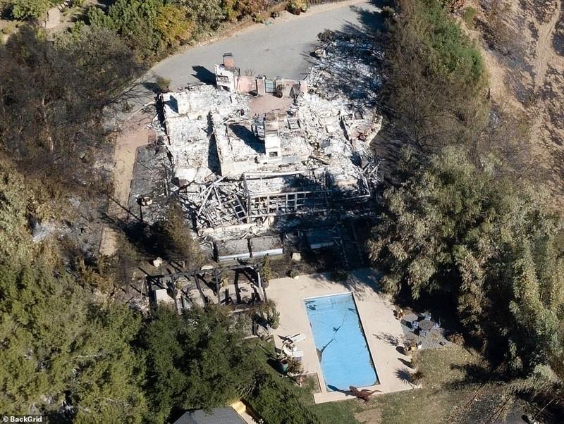 Thị trấn ở California hoang tàn sau thảm họa cháy rừng - ảnh 7