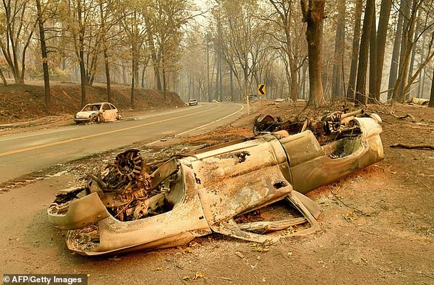 Thị trấn ở California hoang tàn sau thảm họa cháy rừng - ảnh 8