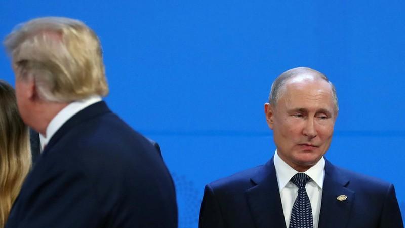 Ông Trump và Putin có cuộc trò chuyện ngắn tại G20 - ảnh 1