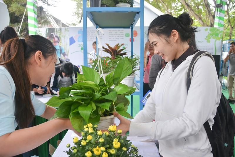 Vui nhộn, hữu ích tại Ngày hội Sống xanh TP.HCM - ảnh 3