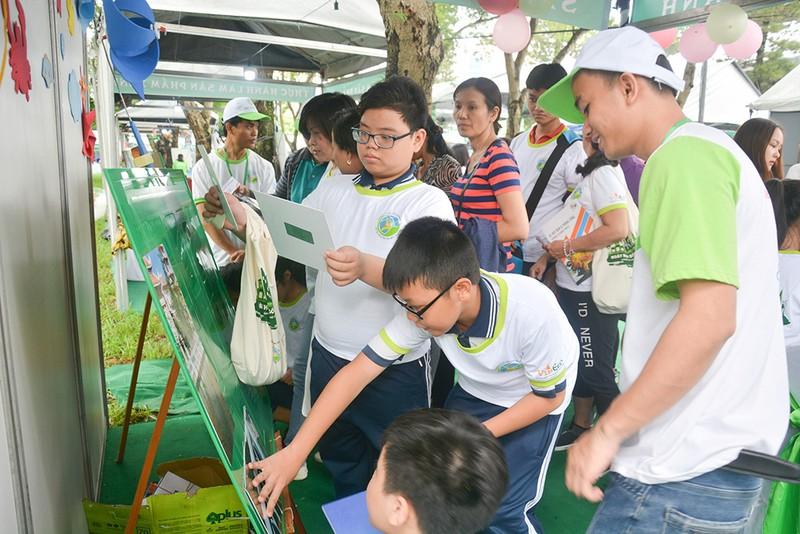 Vui nhộn, hữu ích tại Ngày hội Sống xanh TP.HCM - ảnh 4