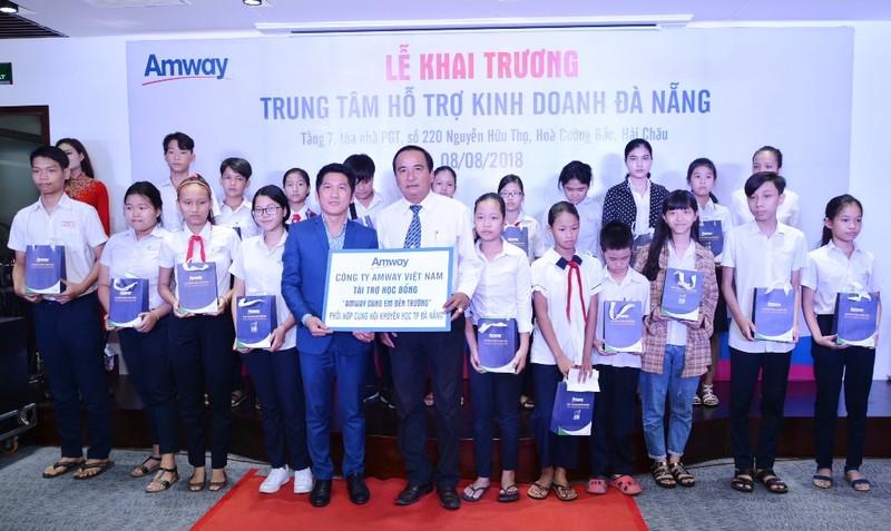 Amway khai trương Trung tâm hỗ trợ kinh doanh tại Đà Nẵng - ảnh 1