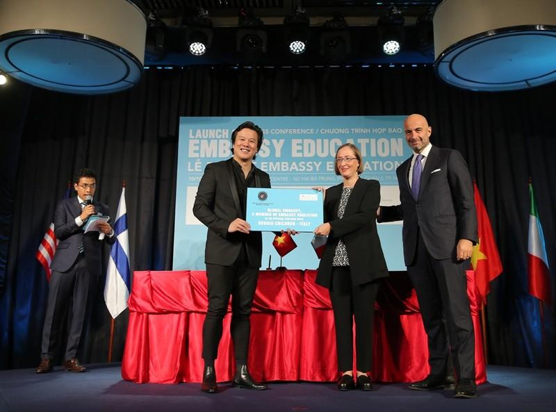 Ra mắt Tổ chức Giáo dục Embassy Education tại Việt Nam - ảnh 1