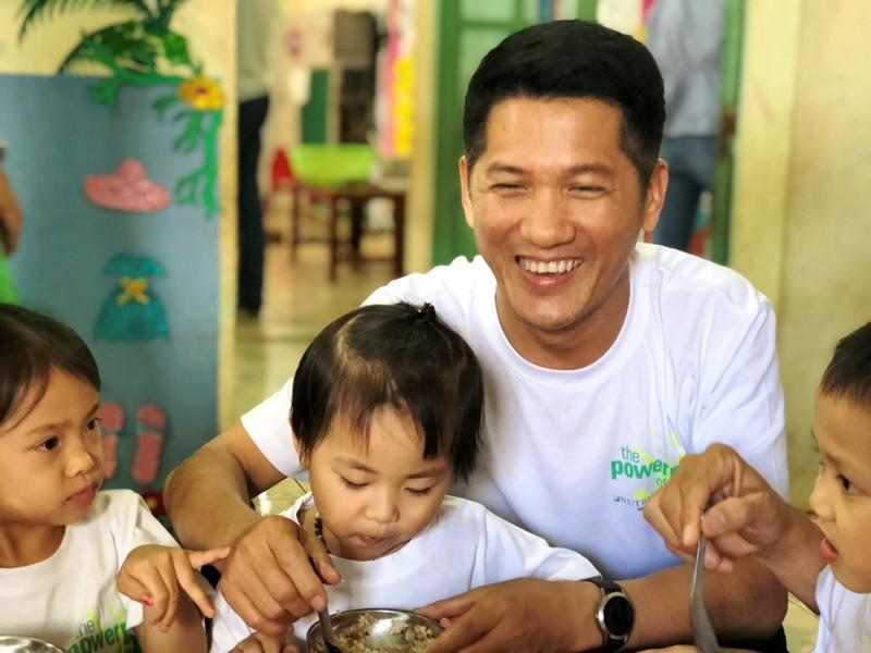 Amway: Chiến dịch giúp giảm tỉ lệ trẻ suy dinh dưỡng - ảnh 1