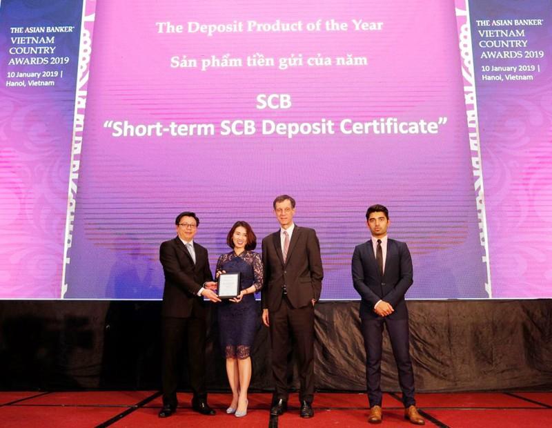 Chứng chỉ tiền gửi SCB nhận được các giải thưởng uy tín - ảnh 1