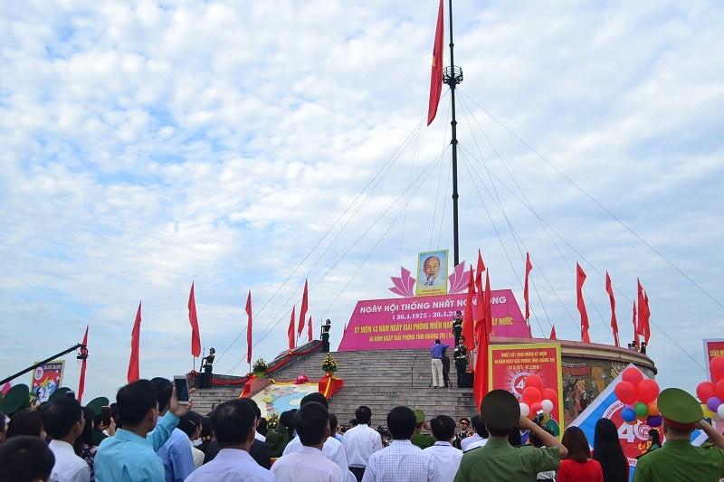 Lễ thượng cờ thống nhất non sông tại vĩ tuyến 17 - ảnh 1