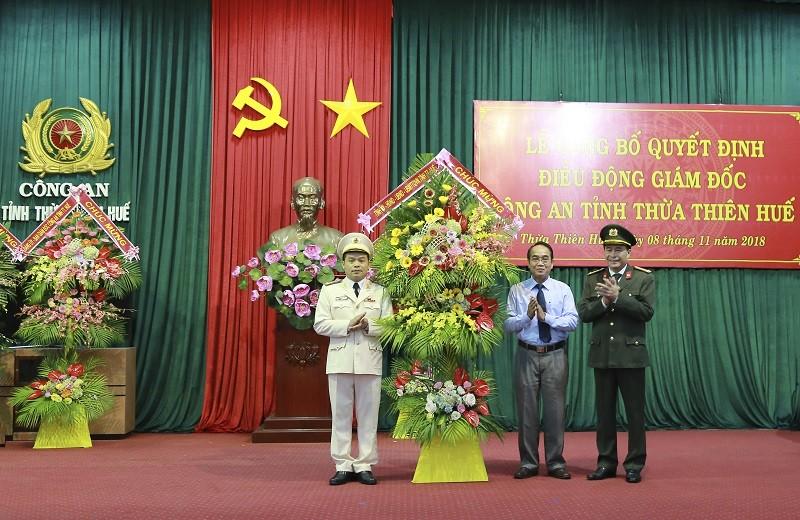 Thừa Thiên-Huế có tân giám đốc công an tỉnh - ảnh 1