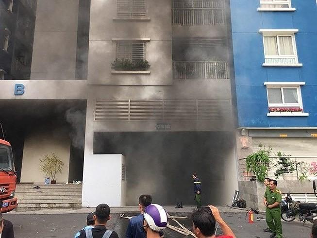Cảnh báo: 3 điều phải nhớ khi chung cư xảy ra cháy nổ - ảnh 1