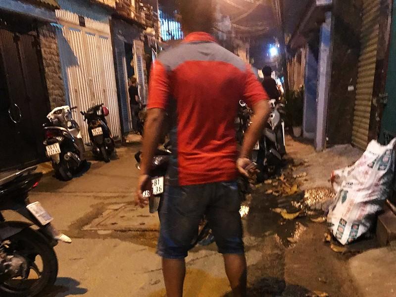 Cảnh sát vây bắt thêm 1 nghi can vụ đâm chết hiệp sĩ ở TP.HCM - ảnh 1