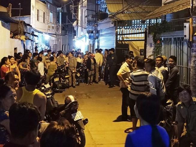 2 nghi can giết người trong phòng trọ ở Bình Tân bị bắt - ảnh 2