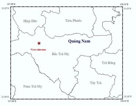 Liên tiếp động đất ở Bắc Trà My, Quảng Nam - ảnh 1