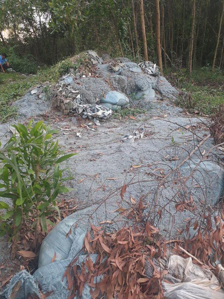 Bắt giữ xe tải đổ trộm chất thải ở Bình Chánh - ảnh 2