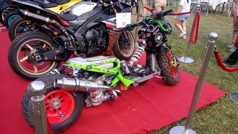 Bóng hồng làm 'nóng' đại hội mô tô lớn nhất Việt Nam - ảnh 7