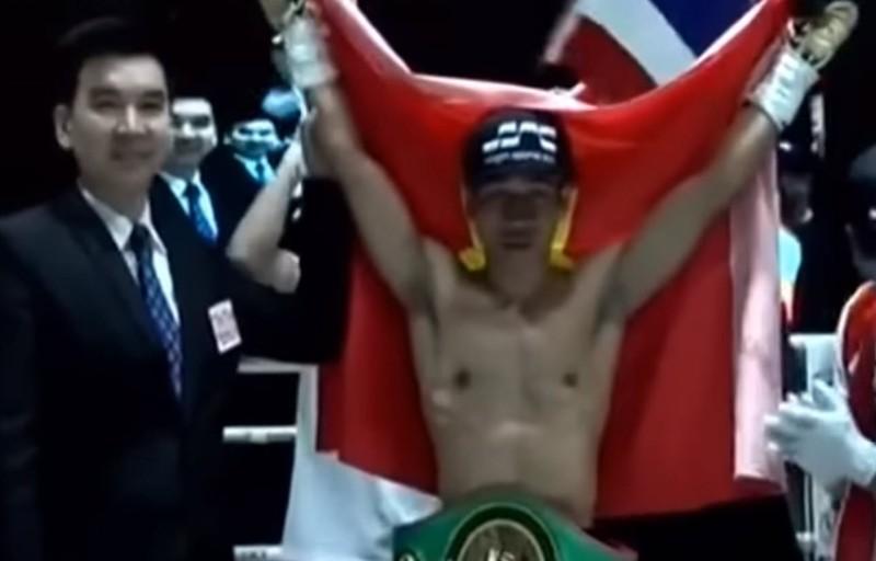 Thắng knock-out giành đai WBC, Văn Thảo đi vào lịch sử - ảnh 1