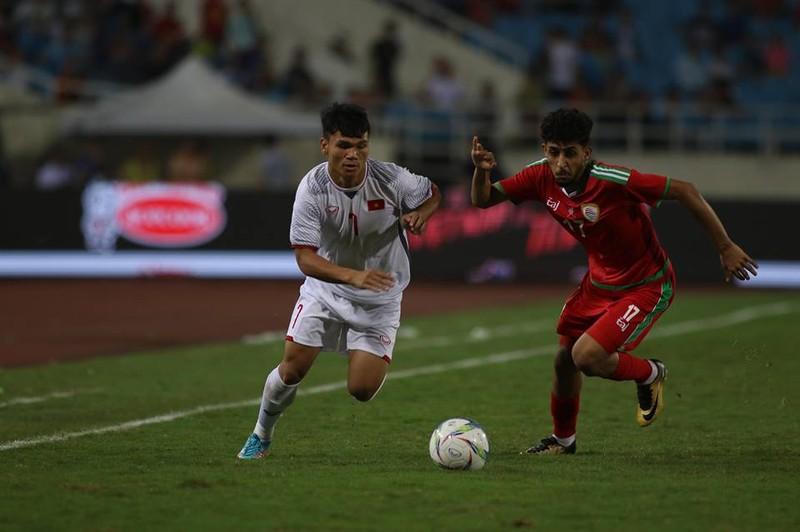 Văn Hậu lập siêu phẩm, U-23 Việt Nam thắng Oman phút 89 - ảnh 17