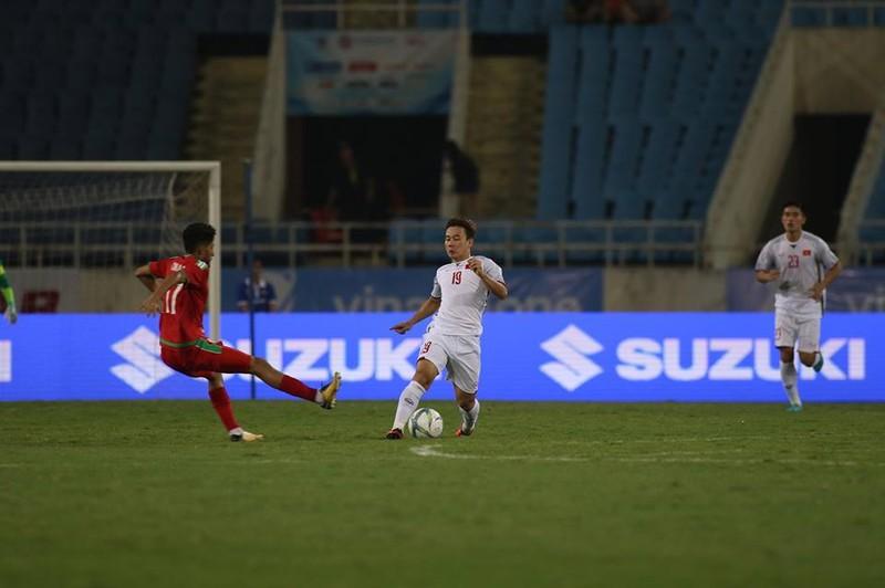 Văn Hậu lập siêu phẩm, U-23 Việt Nam thắng Oman phút 89 - ảnh 18