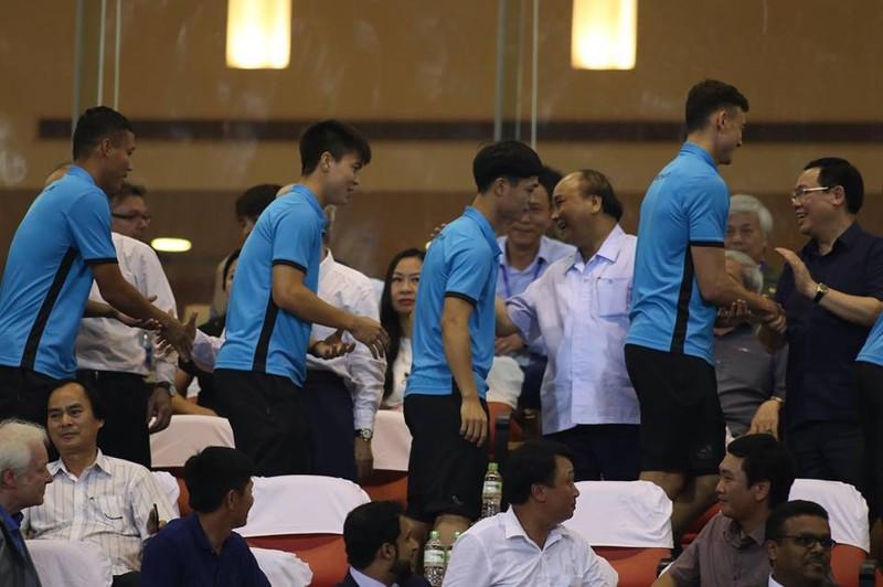 Văn Hậu lập siêu phẩm, U-23 Việt Nam thắng Oman phút 89 - ảnh 19