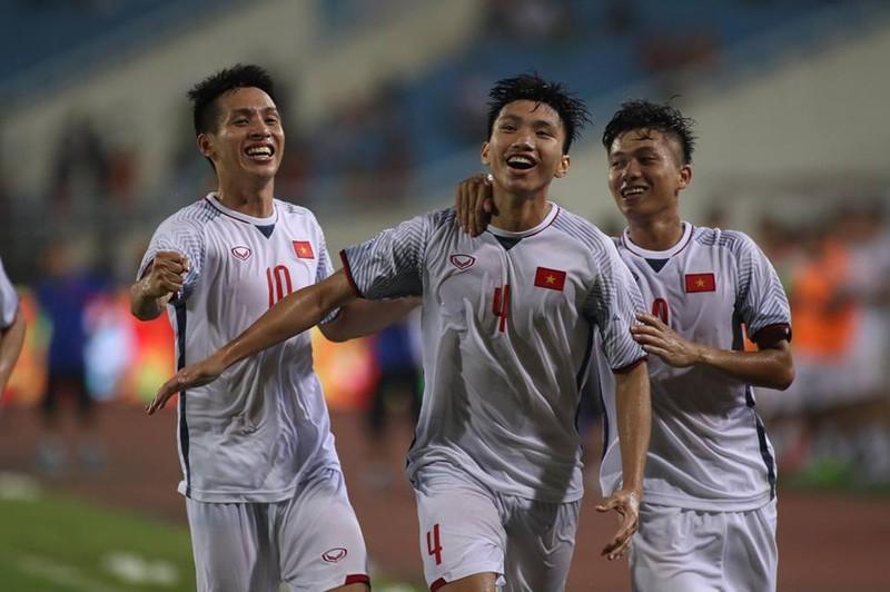 Văn Hậu lập siêu phẩm, U-23 Việt Nam thắng Oman phút 89 - ảnh 4