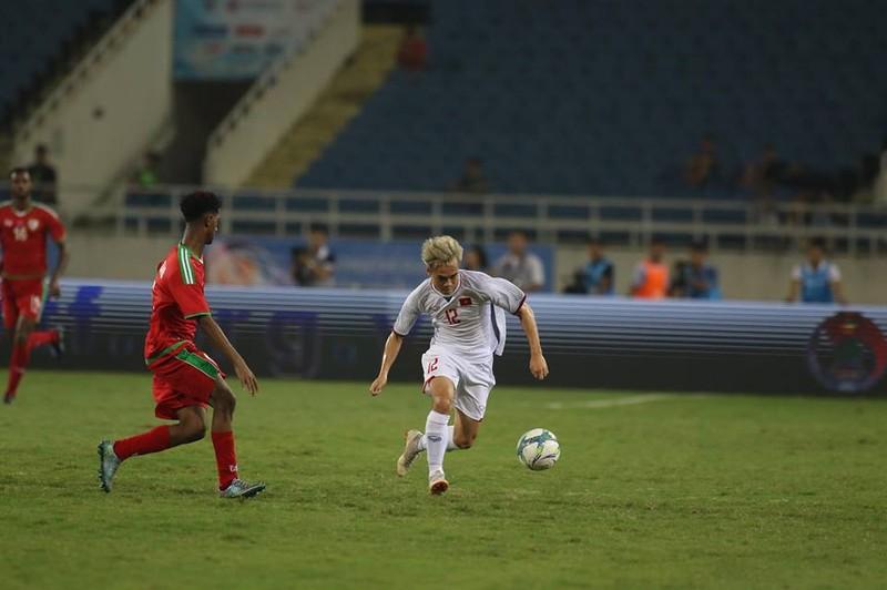 Văn Hậu lập siêu phẩm, U-23 Việt Nam thắng Oman phút 89 - ảnh 12