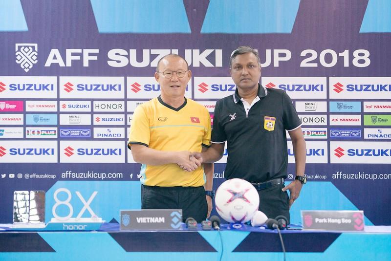 Thắng đậm Lào, Việt Nam khởi đầu mỹ mãn tại AFF Cup 2018 - ảnh 39